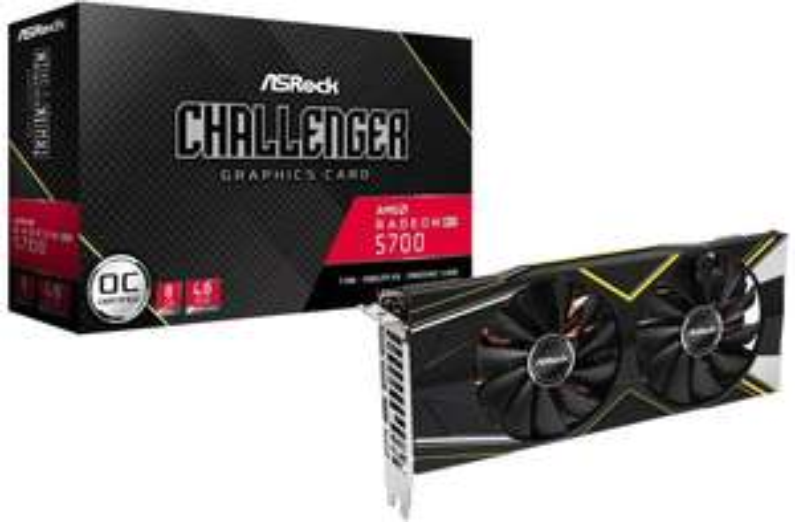 ASRock Radeon RX 5700 Challenger 8 Go - £274.74 delivered @ Amazon.fr