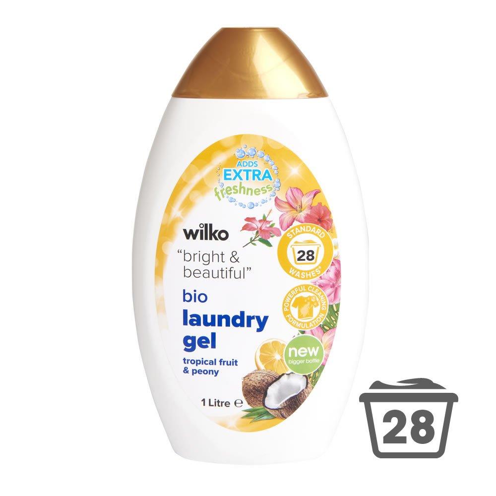 Wilko bio laundry gel 1 Litre £1.25 at Wilko Peterlee