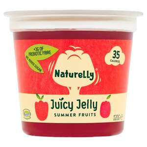 2x Free Naturelly Jelly pot 99p at Booths (Free via CheckoutSmart (Northern England only) - 99p / free after claim)