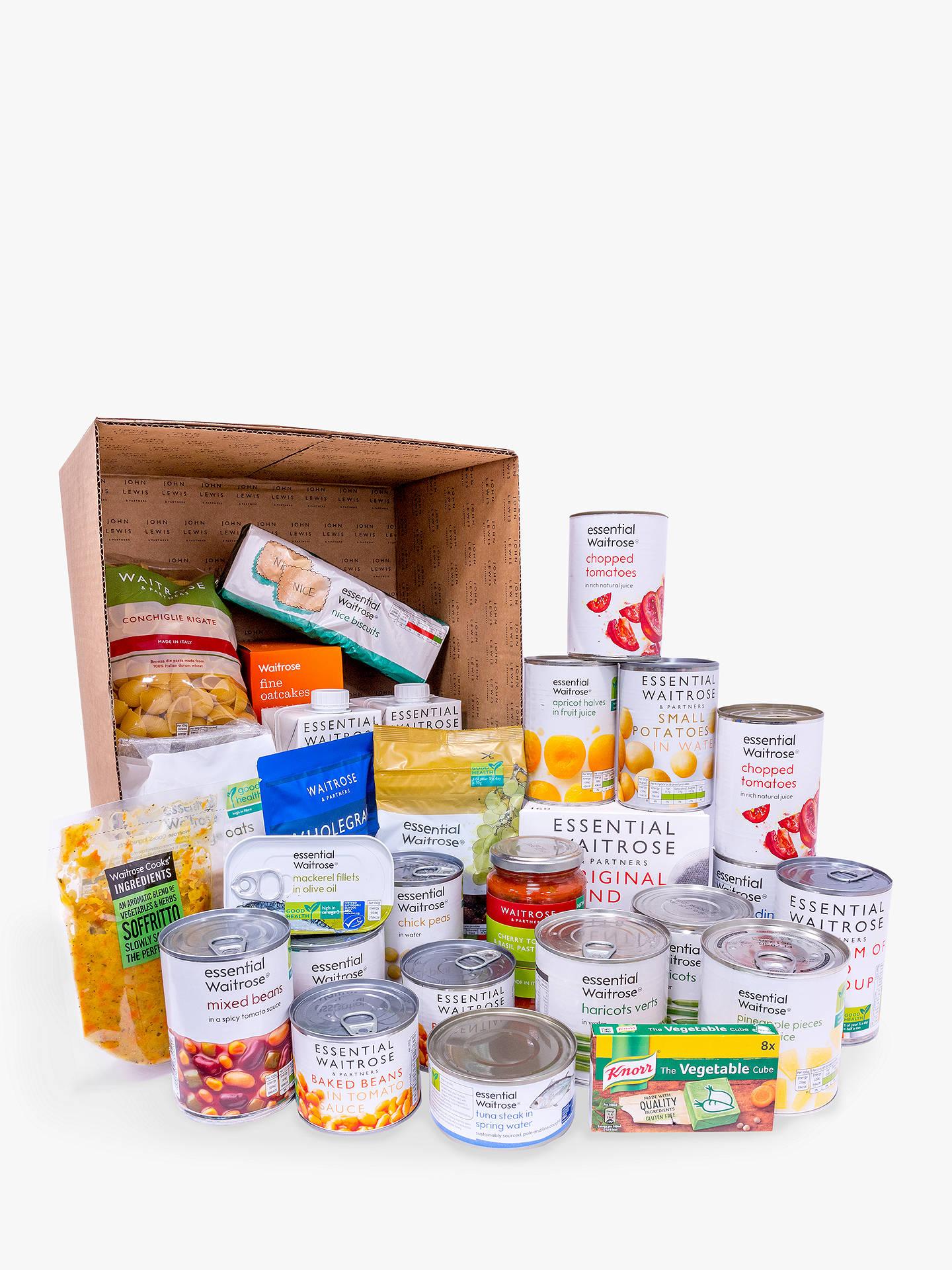 Waitrose Essential Food Box £28.50 Delivered @ John Lewis & Partners
