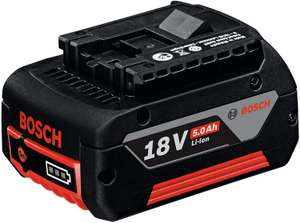 Bosch Professional GBA 18 V 5.0 Ah CoolPack Lithium-Ion Battery - £44.60 @ Amazon