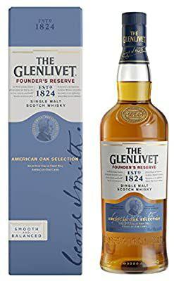 The Glenlivet Founder's Reserve Single Malt Scotch Whisky, 70 cl - £24 @ Amazon