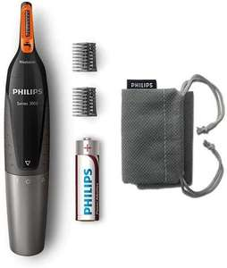 Philips Series 3000 Battery-Operated Nose, Ear & Eyebrow Trimmer - £10 Prime / +£4.49 non Prime @ Amazon