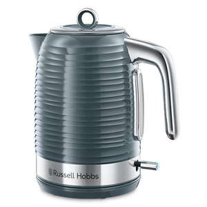 Russell Hobbs Inspire Kettle (Grey) £27 + £4 del at Oldrids & Downtown
