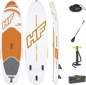 Bestway Hydro-Force Inflatable SUP Stand Up Paddle Board with Paddle, Carry Bag and Pump £199.99 delivered @ Board Masters via Amazon