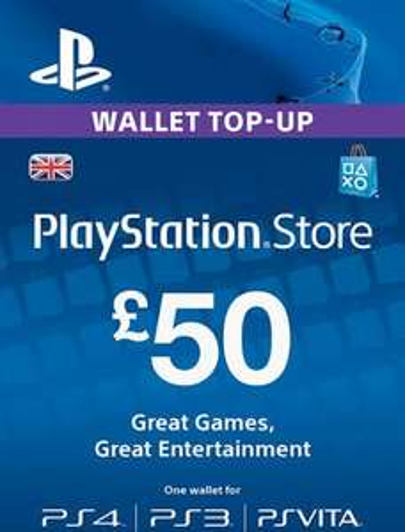 £50 (5* £10) Playstation Credit £33.32 @ Gamivo / blue games