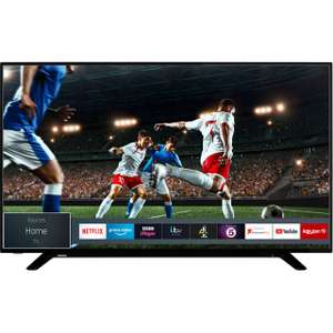 """Toshiba 58U2963DB 58"""" Smart 4K Ultra HD TV with HDR10 and Dolby Vision, £329 at AO"""