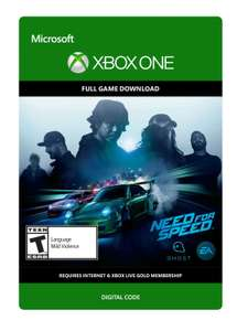 [Xbox One] Need For Speed (Download Code) - £4.49 @ Amazon