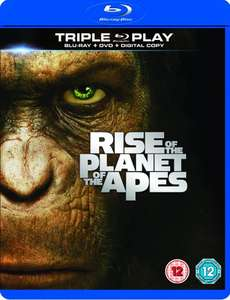 Rise of the Planet of the Apes - Triple Play £2.99 delivered with code @ Zavvi