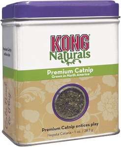KONG - Naturals Premium Catnip - Premium North American Grown - 1 oz £3.19 (Go to other seller's for price / + £4.49 NP) at Amazon
