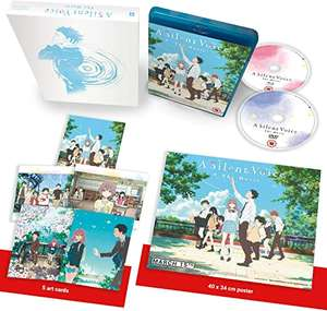 A Silent Voice - Standard Collector's Combi [Blu-ray] + DVD Includes: Artcards & Poster (Anime) £15.89 + £4.49 NP @ Amazon