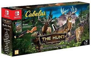 Cabela's: The Hunt Championship Edition Nintendo Switch Game - 16+ Years + Collect 120 Nectar £29.99 @ Argos / Ebay