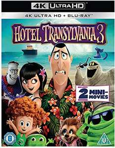 Hotel Transylvania 3 (4K Ultra HD + Blu-ray) £8.49 delivered with prime (+£4.49 non prime) @ Amazon - Sold by Clearance Game Deals