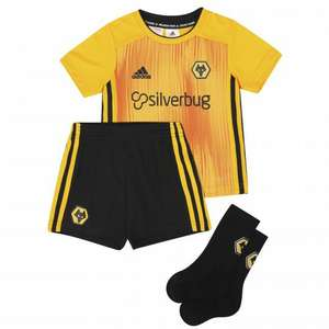 Wolverhampton Wanderers FC Infant Kit - 2 for £27.80 @ Wolves Official Shop