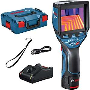 Bosch Professional Thermal Imaging Camera GTC 400 C 1x 1.5Ah Battery, Fast Charger and Micro USB Cable In Box £611.99 Amazon