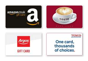 £5 Gift Card with Orders Over £80 at JD Sports via The Mirror @ Gift cloud