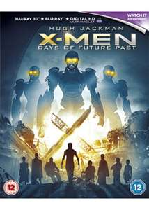 X-Men Days Of Future Past 3D Blu-ray £3.29 delivered at Base
