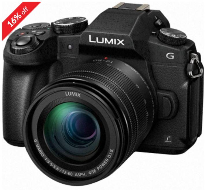 Panasonic DMC-G80 12-60, Black £499 at Castle Cameras