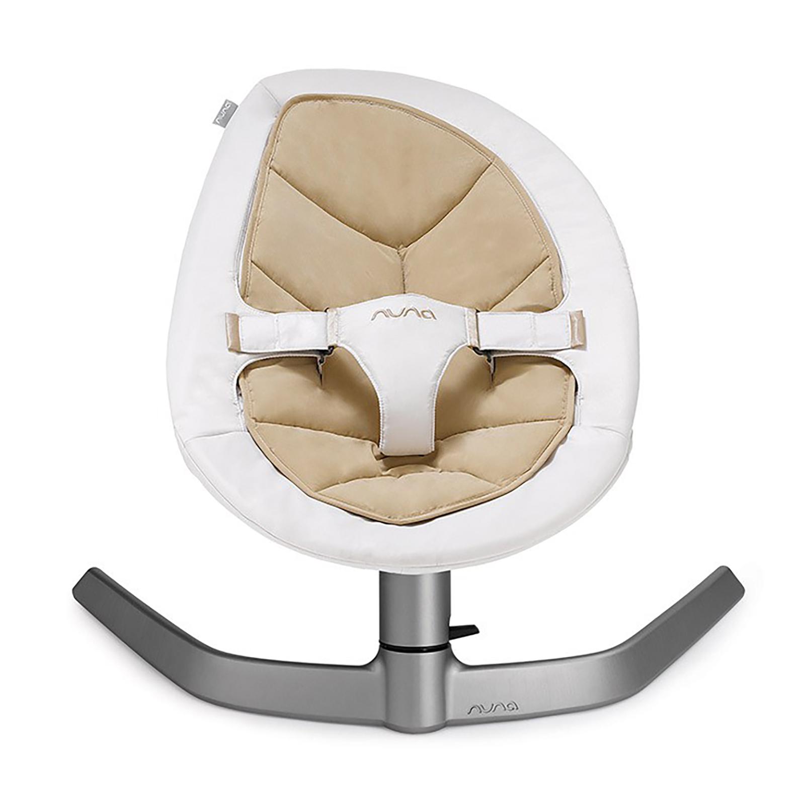 Nuna Leaf Rocker / Bouncer Chair - Bisque £89.95 @ Online4baby
