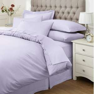 Easy Care Plain Dye Duvet Cover (8 colours) Single £8.55, Double £10.80, King Size £13.05 + Free delivery @ Damart