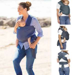 Moby Wrap Evolution Baby Carrier - Denim £24.95/£27.90 Delivered From Online4baby