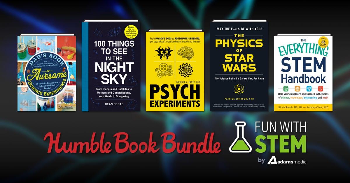 Humble Bundle 'Fun with Stem' Book Bundle - from £1