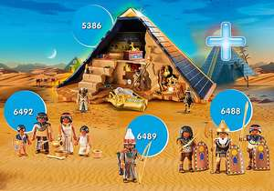 Pyramid Bundle now £40 + (poss £32 with sign up) Free delivery @ Playmobil