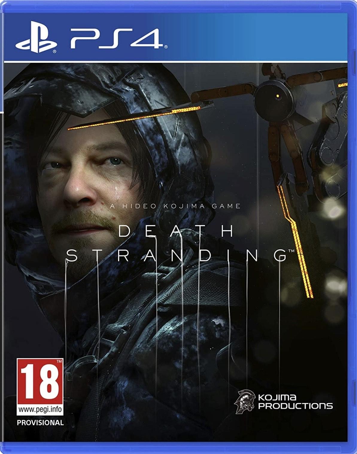 Death stranding (PS4) Ex-rental - £24.99 @ boomerang rentals via eBay