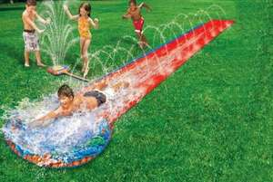 16ft 2-in-1 Water Slide with Vertical Sprinkler £18.98 Delivered @ Wowcher