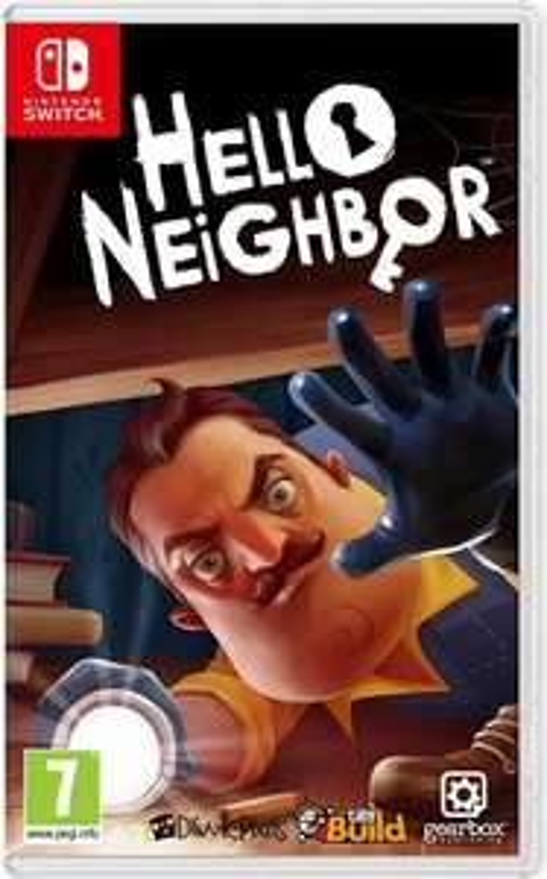 Hello Neighbor for Nintendo Switch only £19.99 (+£2.99 non-Prime) at Amazon
