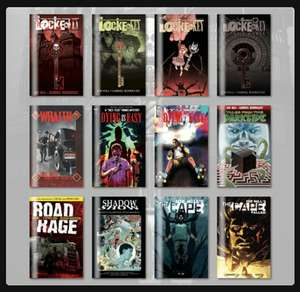 Complete set of Locke and Key comics for £12 @ Humble Bundle