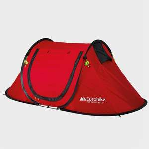 EUROHIKE Pop 200 SD Tent £26.35 + £3.99 delivery @ Millets