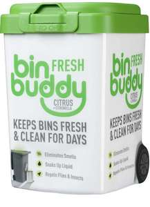 Bin Buddy Fresh Citrus Zing 450g - £2.61 (+£4.49 non-Prime) @ Amazon