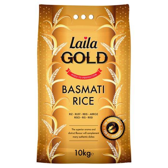 Laila Gold Basmati Rice (10Kg) £11 @ Tesco