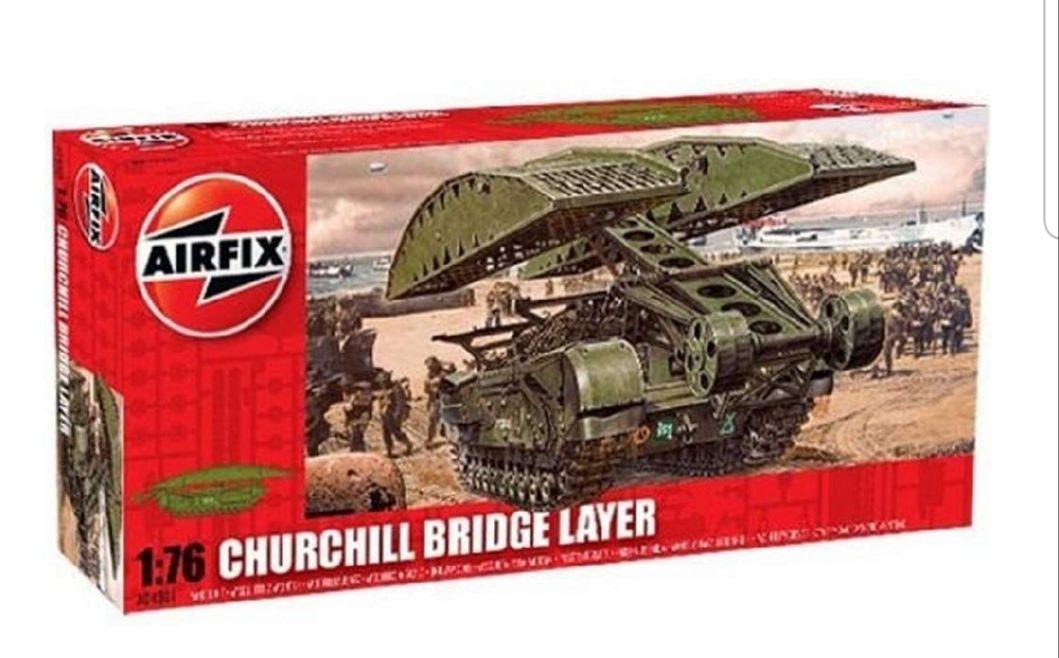 Airfix A04301 Churchill Bridge Layer 1:76 Scale Series 4 Plastic Model Kit £11.08 @ Amazon (+£4.49 non prime)