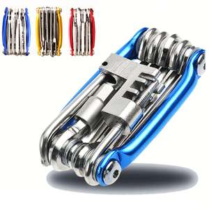 CYARO multi-tool for bikes with 11 tools for £3.86 delivered from China @ AliExpress Deals / La Zu Store