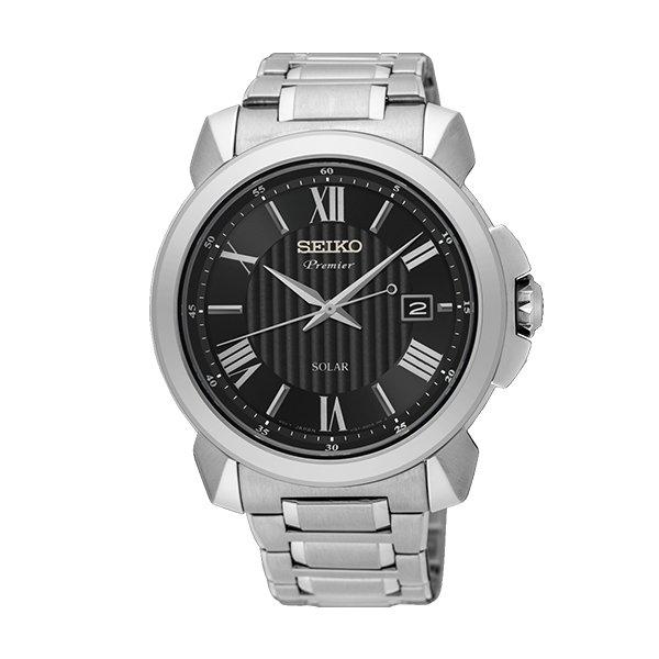 SEIKO PREMIER BLACK DIAL SNE455P1 £109.00 @ AMJ Watches