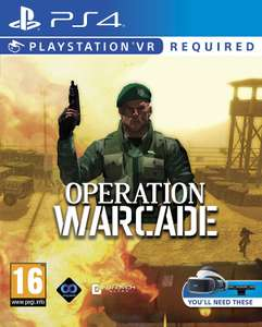 Operation Warcade (PSVR/PS4) £7.99 (Prime) / £10.98 (non Prime) @ amazon.co.uk
