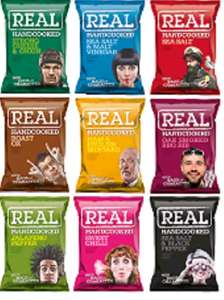 Real Crisps Various Flavours 4 for £1 @ Home Bargains Edinburgh
