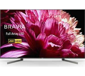 "Sony Bravia KD55XG9505 (2019) LED HDR 4K Ultra HD Smart Android TV, 55"" with Freeview HD & Free 5 year Guarantee- £855 @ Currys PC World"