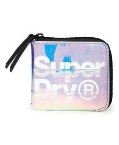 Superdry Womens Mai Coin Purse Now £5.10 Free delivery @ Superdry outlet eBay