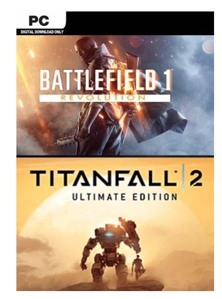 [Origin] Battlefield 1 Revolution & Titanfall 2 Ultimate Edition Bundle (PC) - £5.99 @ CDKeys