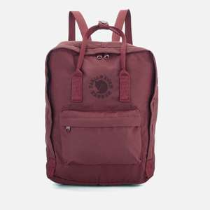 Fjallraven Re-Kanken Backpack - Ox red only £38.40 + £2.99 delivery at The Hut