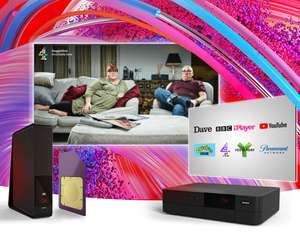 Virgin Big Oomph Bundle £33.99/m + £35 setup - £442.88 + £125 bill credit - possible £135 Quidco (M200/TV/Phone/5GB Sim)