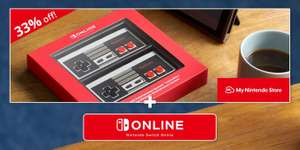 Nintendo Switch NES Controllers + 12 Months Individual Online Membership £51.48 / £64.98 with Family Membership + p&p @ Nintendo Store