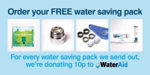 Yorkshire Water Free water saving pack & charity donation