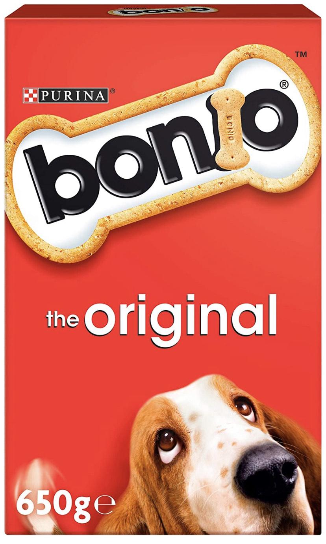 Bonio The Original Biscuits Dog Food 650g - £1.50 Prime / +£4.49 non Prime @ Amazon
