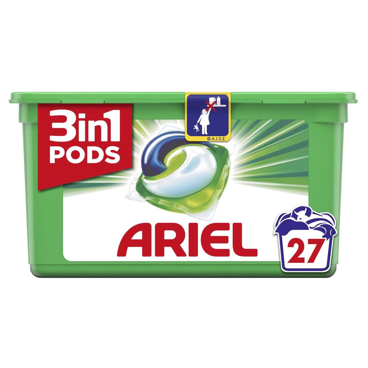 Tesco Arial 3 in 1 pod 27 washes - £3.50 instore @ Tesco, Stevenage