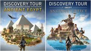 Assassin's Creed Odyssey & Origins Discovery Tour for Ancient Egypt and Ancient Greece Standalone are free to download on uPlay (PC)