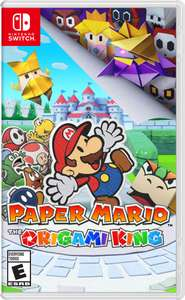 Paper Mario : The Origami King + Free Origami Sheets Physical Copy Pre-order £42.85 @ ShopTo
